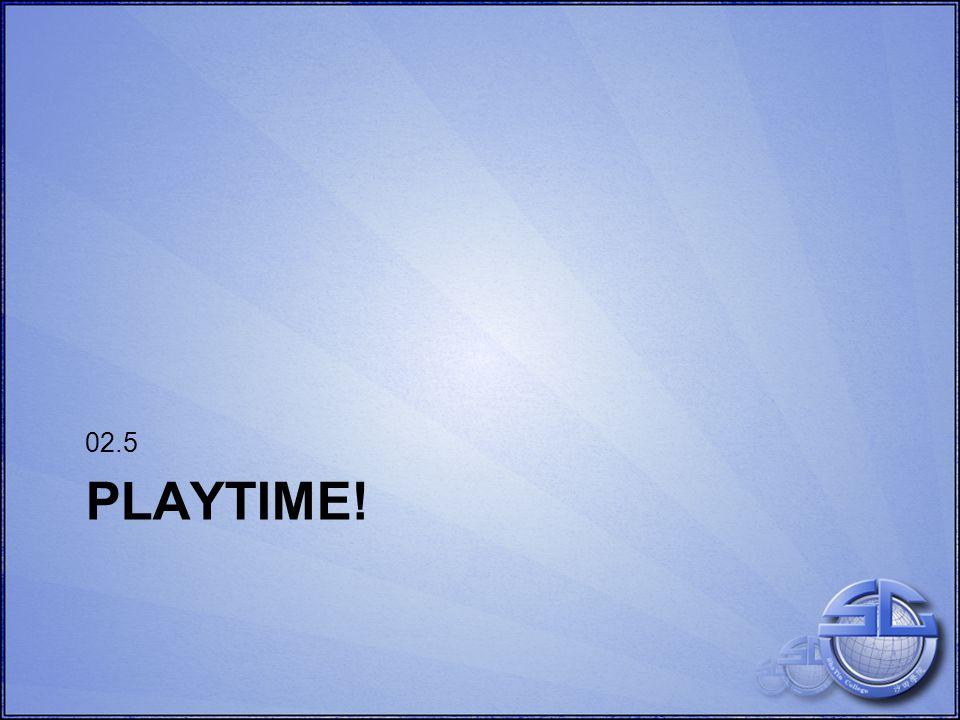 PLAYTIME! 02.5