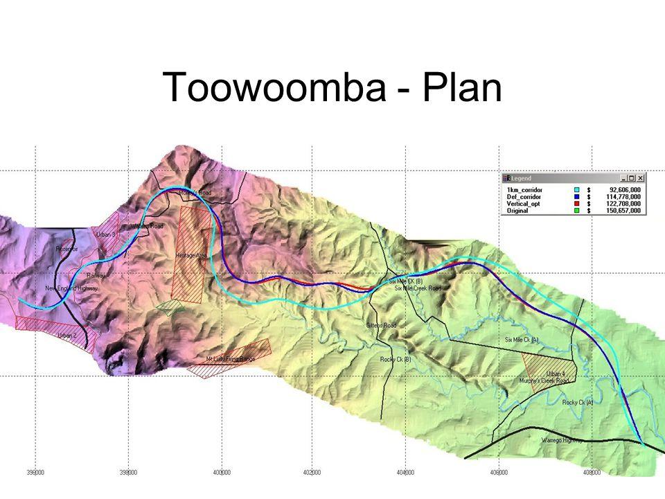 Toowoomba - Plan