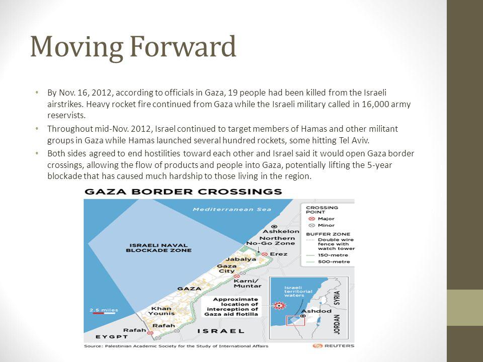 Moving Forward By Nov.