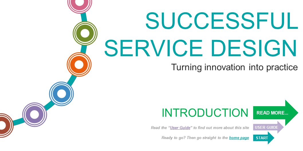 SUCCESSFUL SERVICE DESIGN Turning innovation into practice READ MORE...