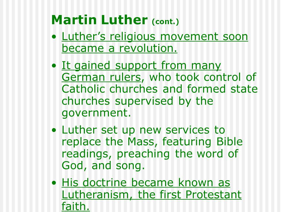Luther's religious movement soon became a revolution.