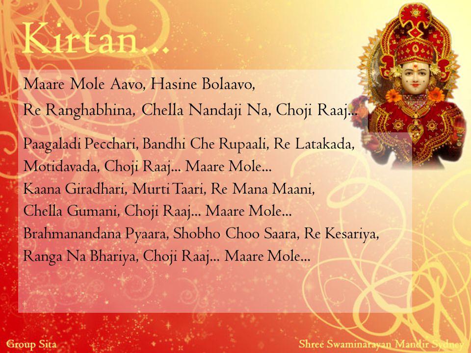 Maare Mole Aavo, Hasine Bolaavo, Re Ranghabhina, Chella Nandaji Na, Choji Raaj... Paagaladi Pecchari, Bandhi Che Rupaali, Re Latakada, Motidavada, Cho
