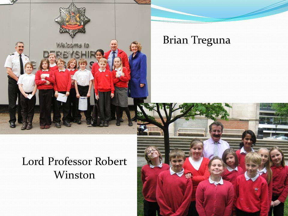 Brian Treguna Lord Professor Robert Winston