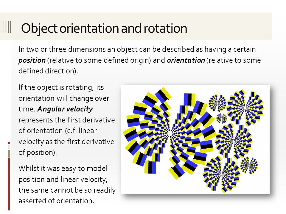 The scaled axis representation can be used to represent the direction and speed of rotation, i.e.