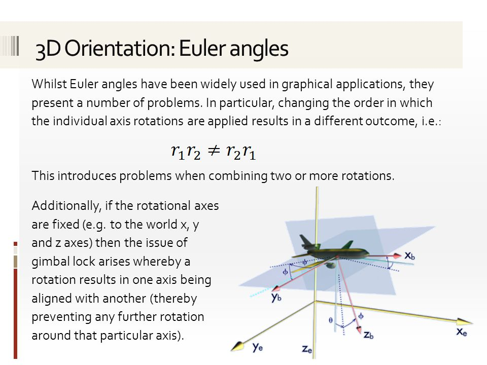 Any rotation (and hence any combination of rotations) in 3D can be represented as a single rotation about a fixed axis (i.e.