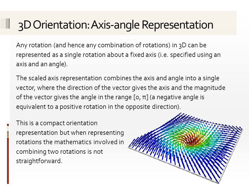 Any rotation (and hence any combination of rotations) in 3D can be represented as a single rotation about a fixed axis (i.e. specified using an axis a