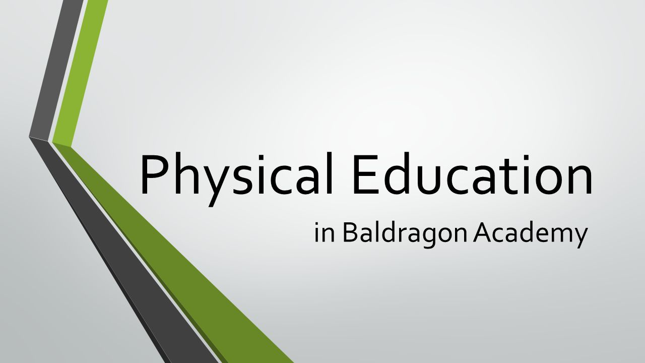 Physical Education in Baldragon Academy