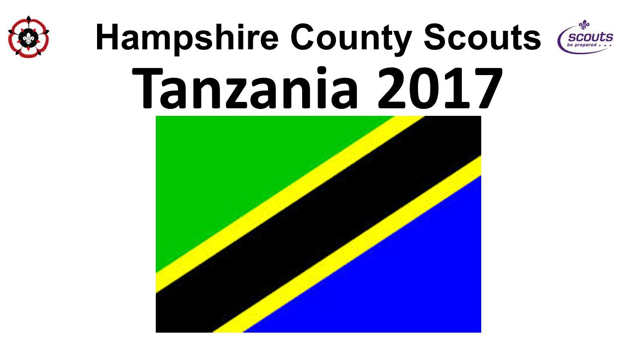 Hampshire County Scouts During a visit to Tanzania in June 2013, a mad plan was thought of.