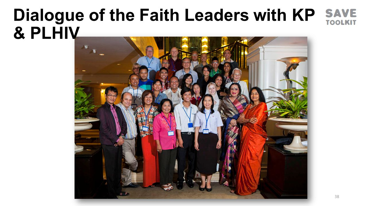 38 Dialogue of the Faith Leaders with KP & PLHIV