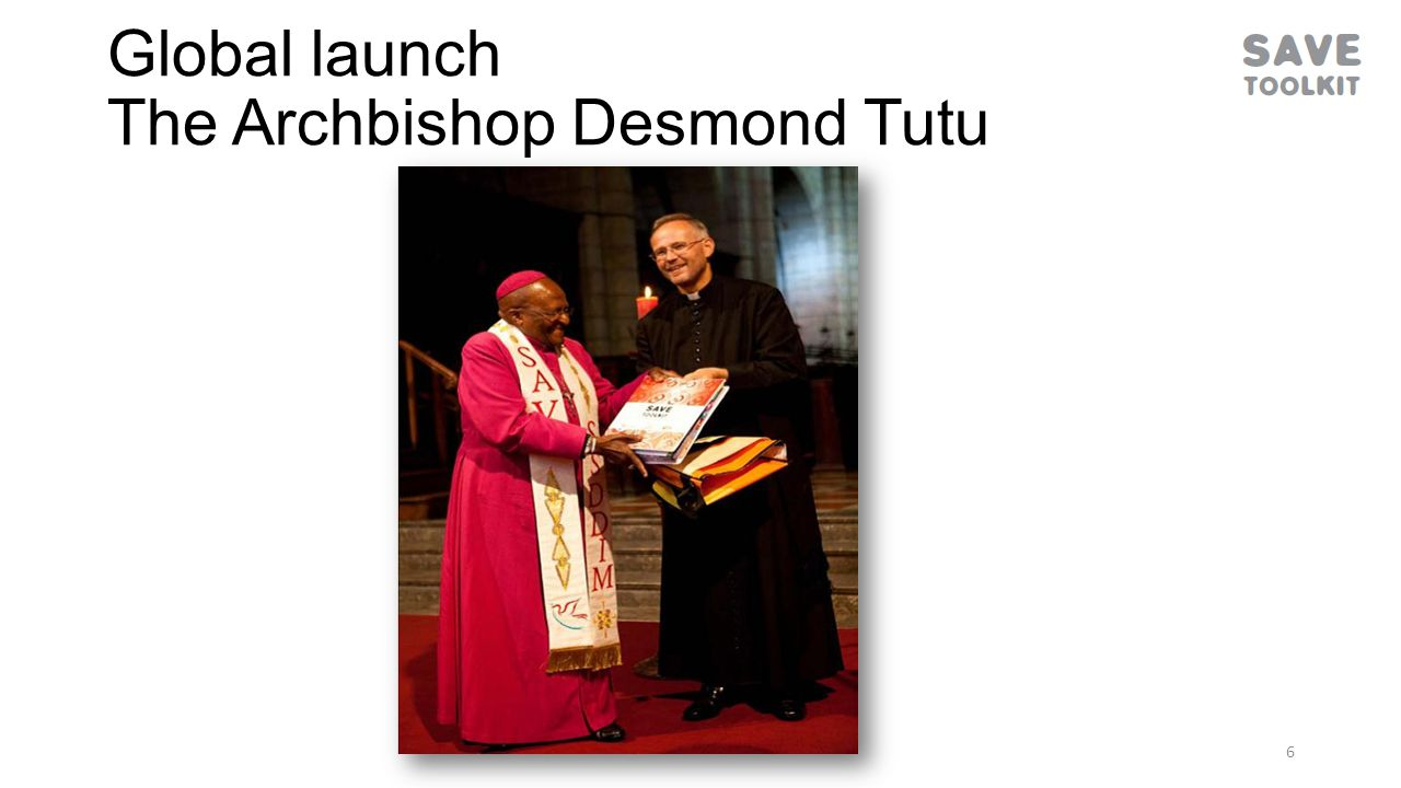 Global launch The Archbishop Desmond Tutu 6