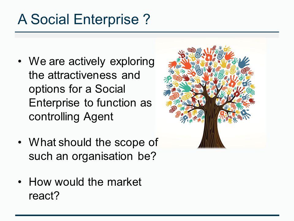 A Social Enterprise .