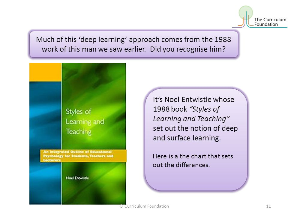 Much of this 'deep learning' approach comes from the 1988 work of this man we saw earlier.