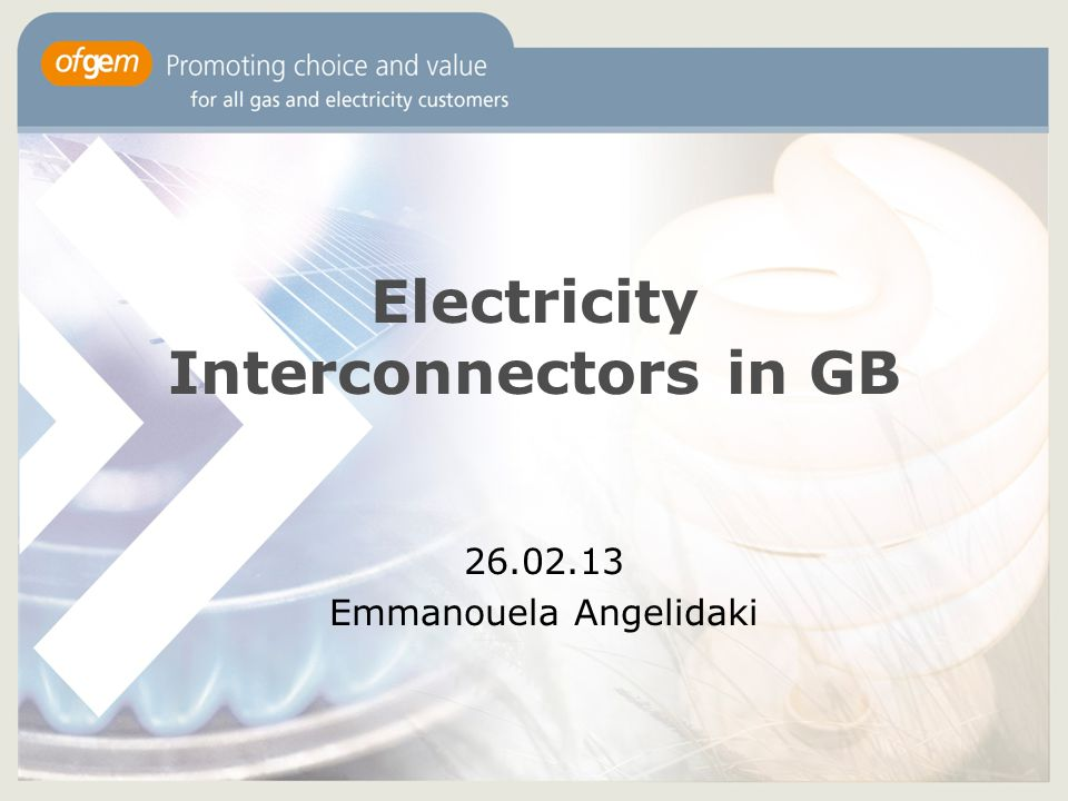 2 Content Role of interconnection in Europe and GB Approach to interconnector investment to date and drivers for change New regulatory regime for interconnector investment in GB Next Steps Q&A