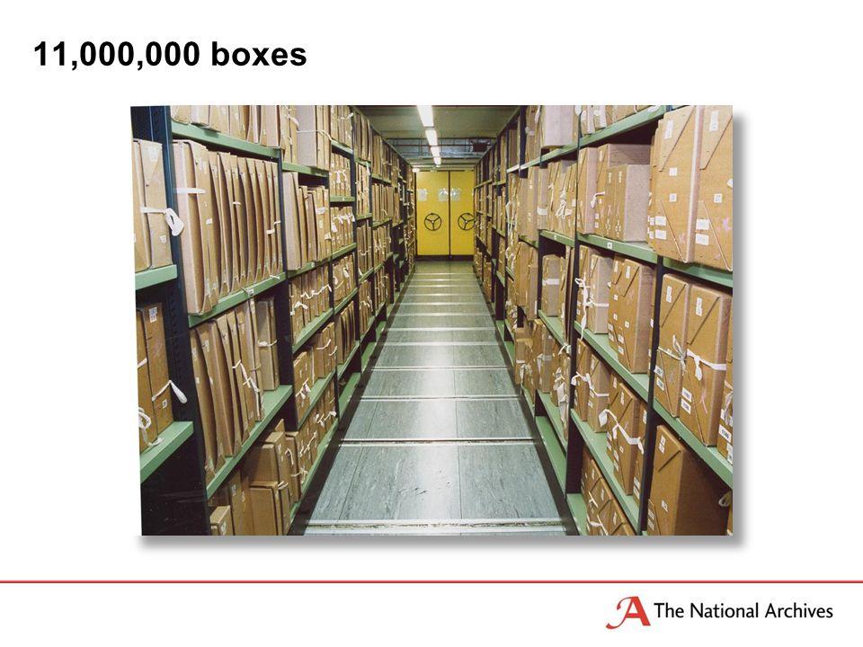 11,000,000 boxes