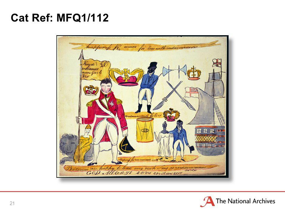 Cat Ref: MFQ1/112 21