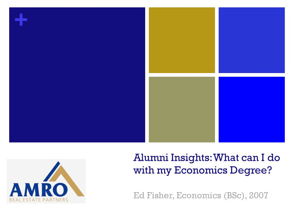 + Alumni Insights: What can I do with my Economics Degree? Ed Fisher, Economics (BSc), 2007