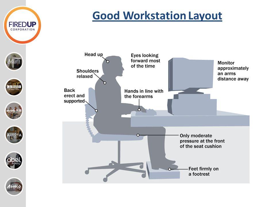 Good Workstation Layout