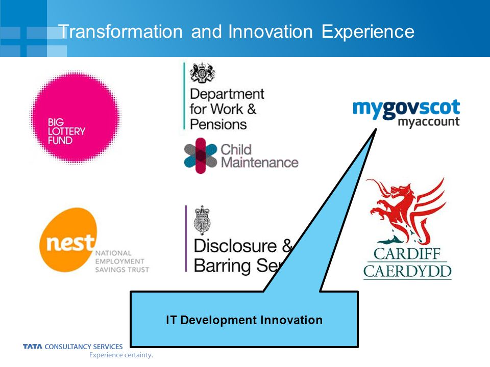 Transformation and Innovation Experience IT Development Innovation