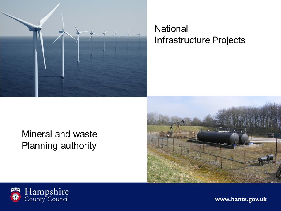 National Infrastructure Projects Mineral and waste Planning authority