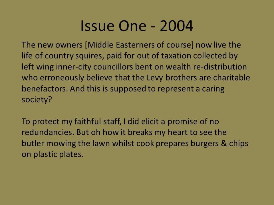 Issue Three - 2006 Ho, Ho Ho!!