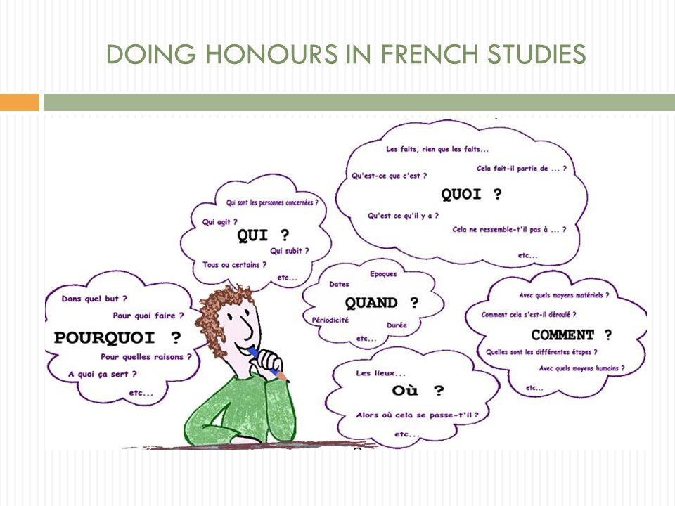 What does doing 'Honours' mean.