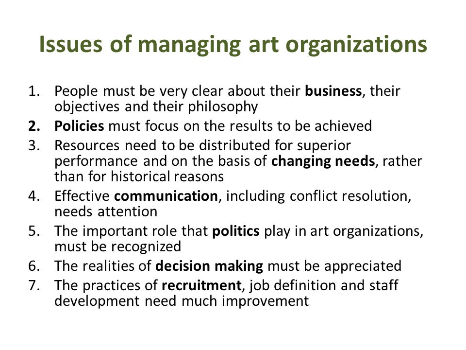 Fivebasic operationsto be performed by managers 1.Setting objectives 2.Organizing through 1.analyzing activities 2.identifying manageable jobs 3.grouping the jobs into a structure 3.Motivating and communicating 4.Measurement by setting targets for performance 5.Developing people and their skills how to do these best and what is the right balance between them?