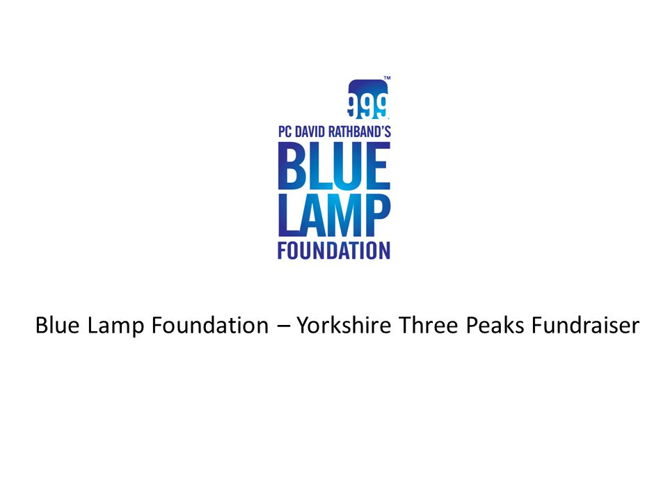 What do the Blue Lamp Foundation do.