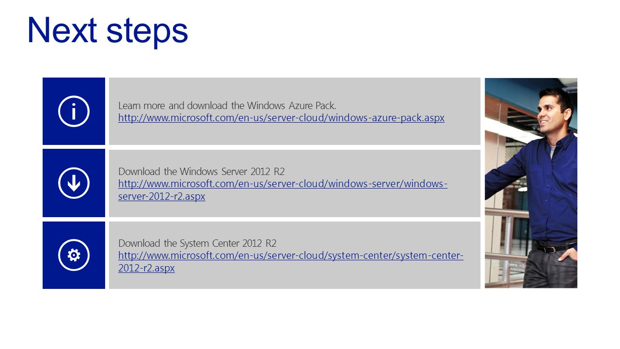 Learn more and download the Windows Azure Pack.