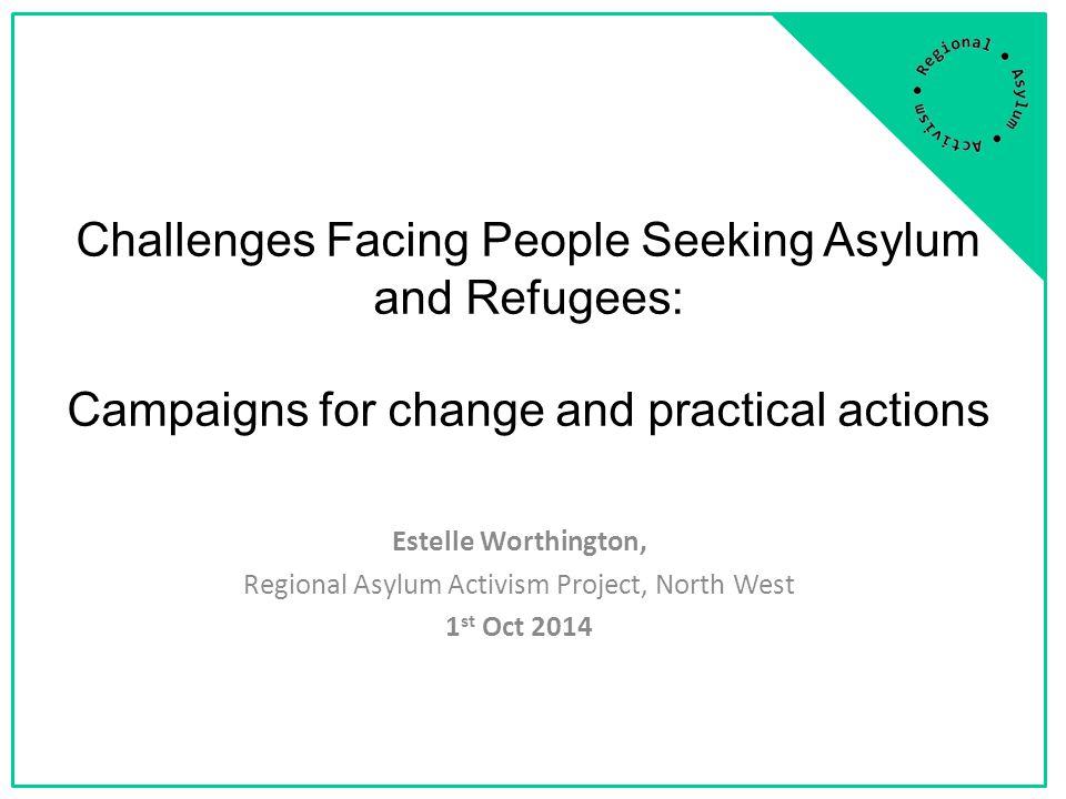 Regional Asylum Activism: Who are we.