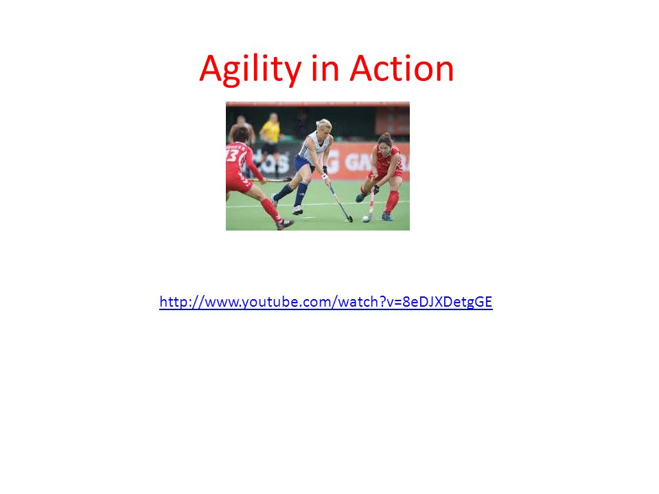 Agility in Action http://www.youtube.com/watch v=8eDJXDetgGE