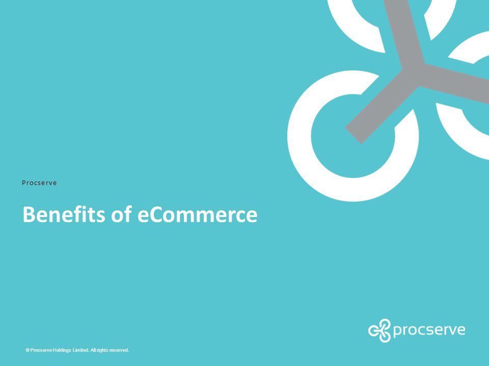 2 eCommerce and why it is important Common challenges that eCommerce addresses: 1.