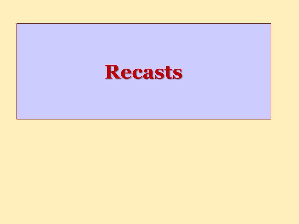 Recasts