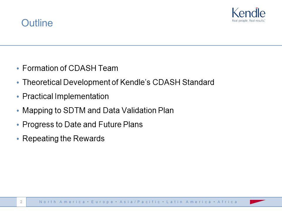 Kendle Implementation of Clinical Data Acquisition Standards Harmonization Dr Elke Sennewald Kendle 9th German CDISC User Group Meeting Berlin, 28 Sep