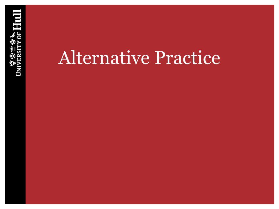 Alternative Practice