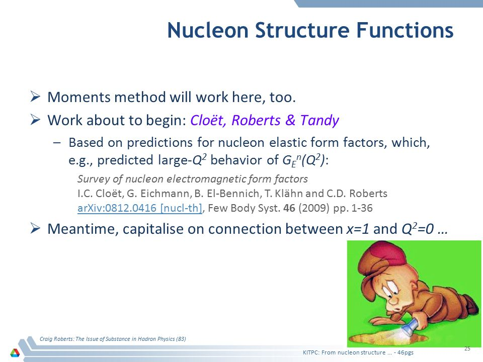 Nucleon Structure Functions  Moments method will work here, too.