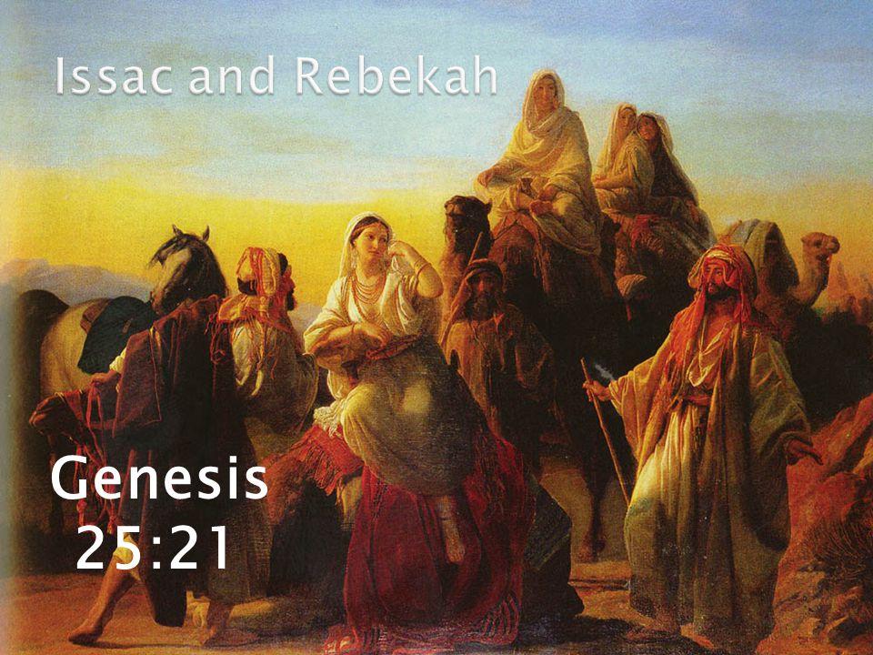 Genesis 25:21