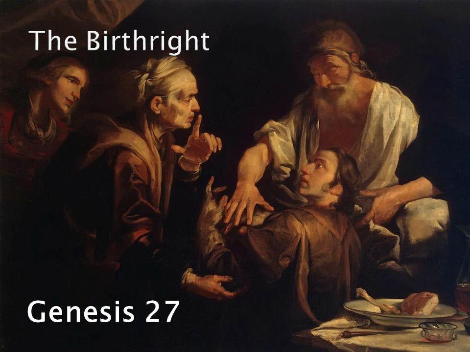 Genesis 27