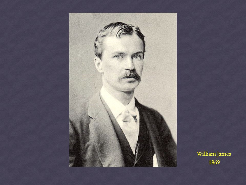 William James 1869