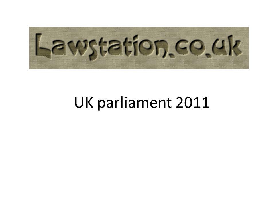 UK parliament 2011