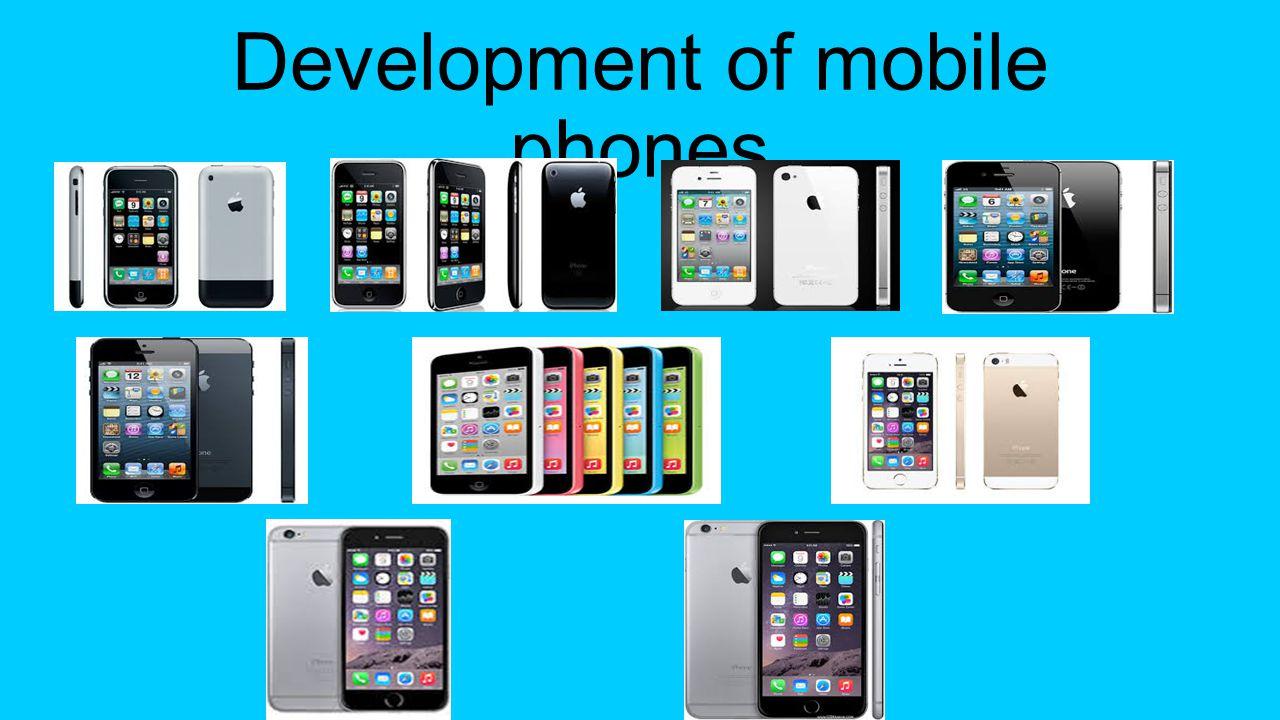 Development of mobile phones