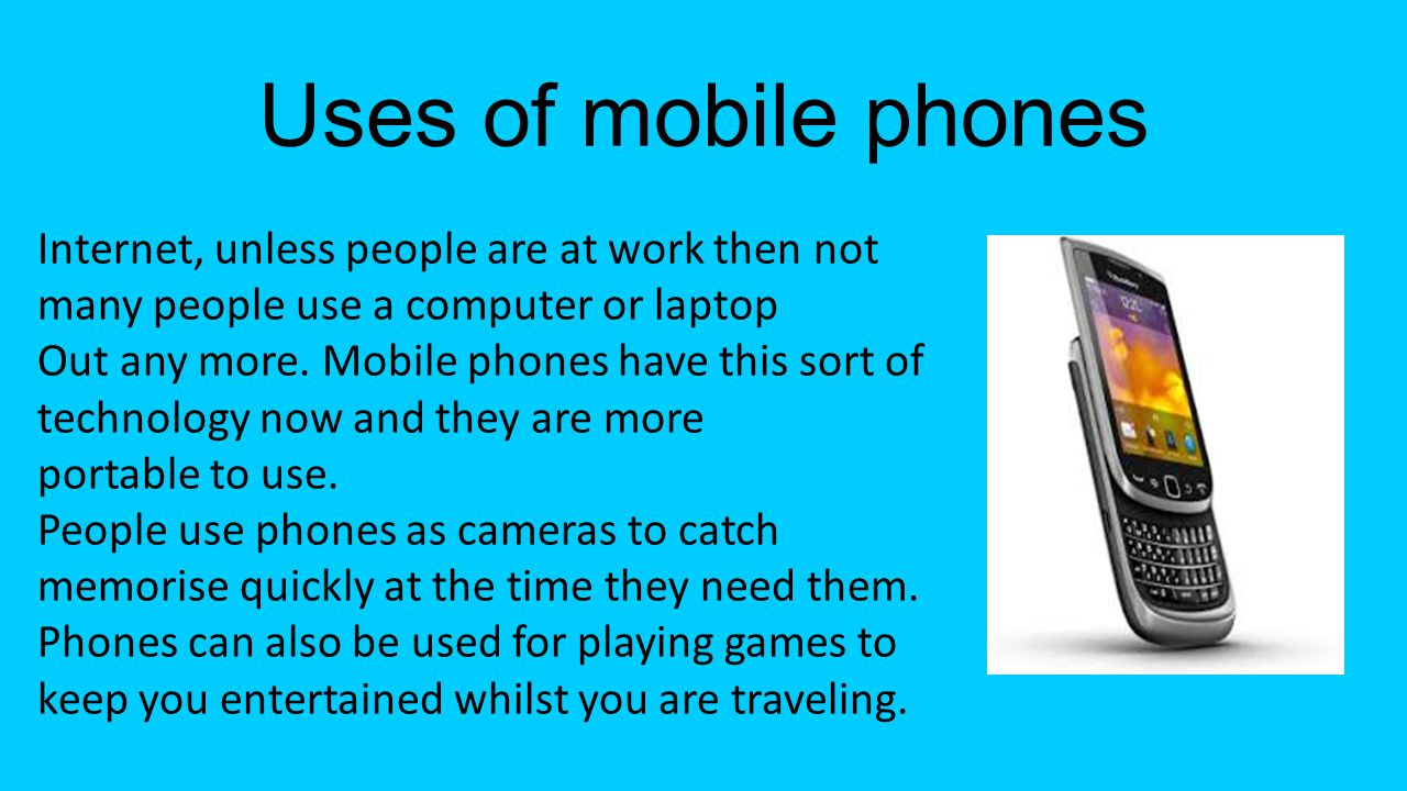 Impact of mobile phones The impact of mobile phones in todays society is massive.