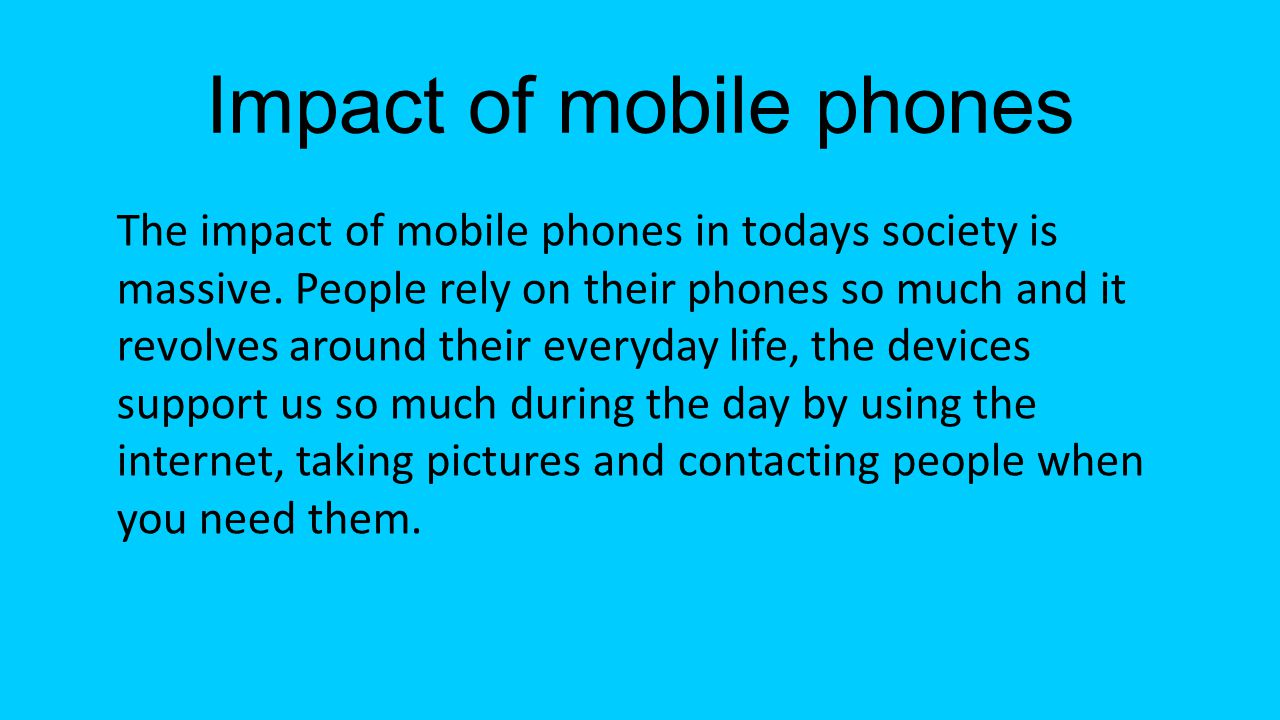 If technology didn't exist The world today would be a completely different place if technology wasn't around.