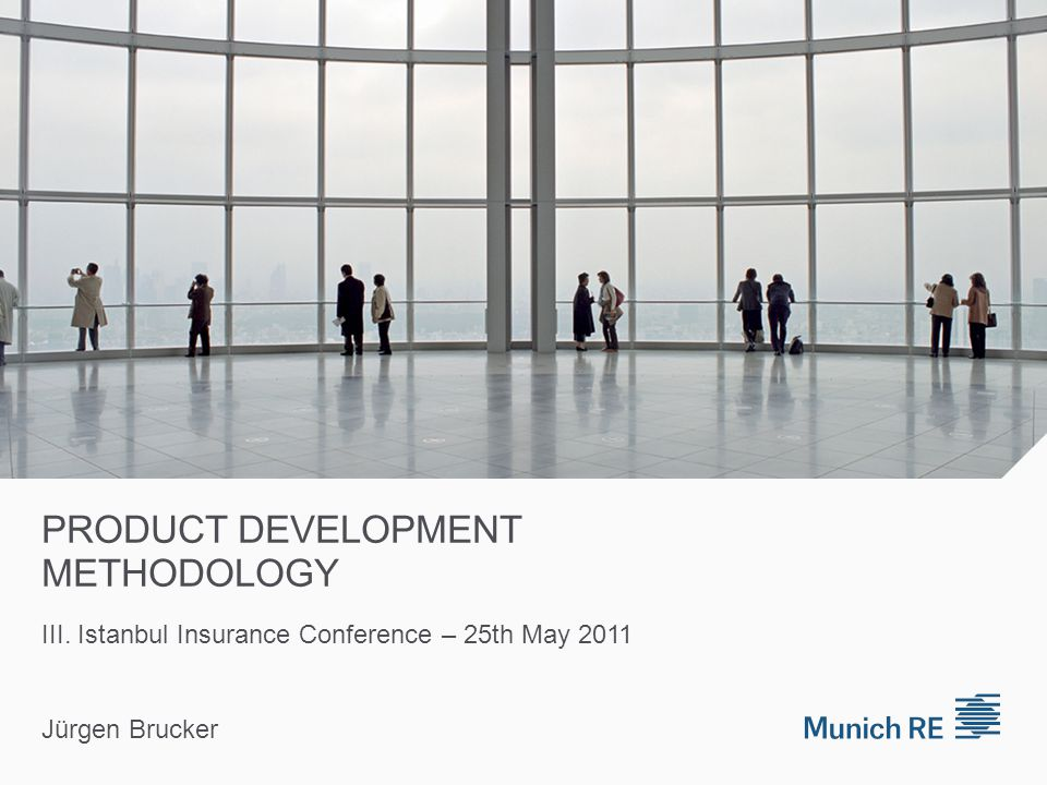 Ins.Comp. New Product Development Ins. Comp./Munich Re project team approx.