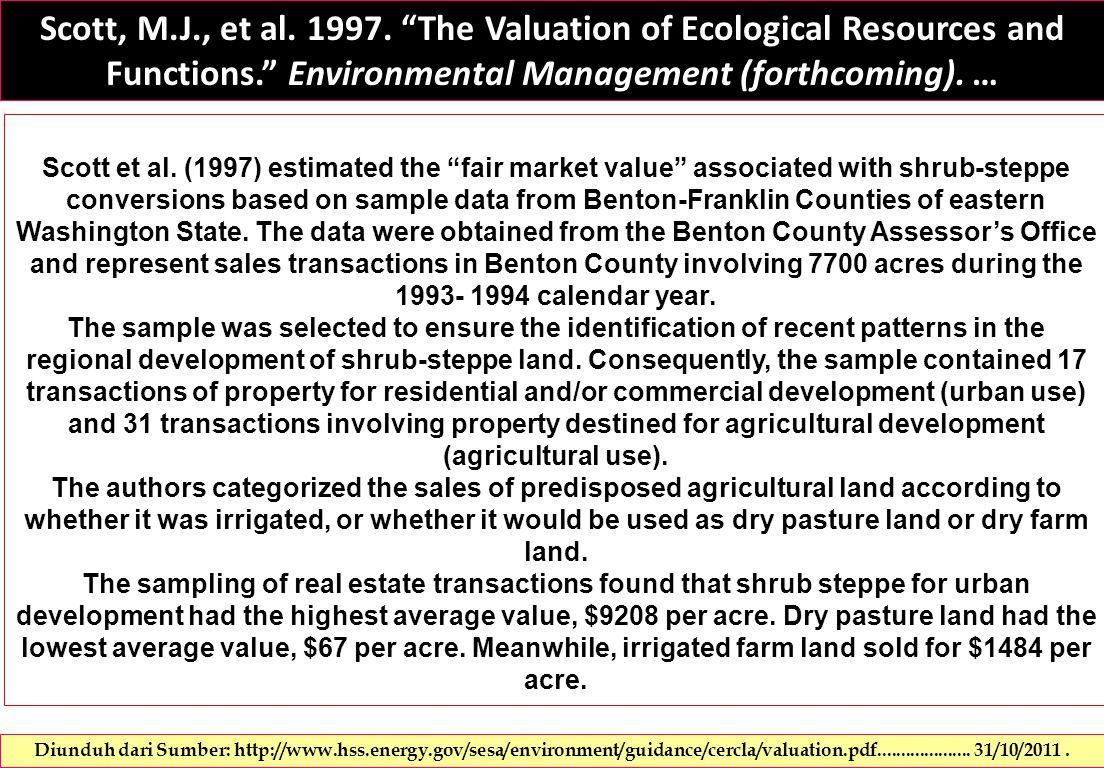 Scott, M.J., et al. 1997.