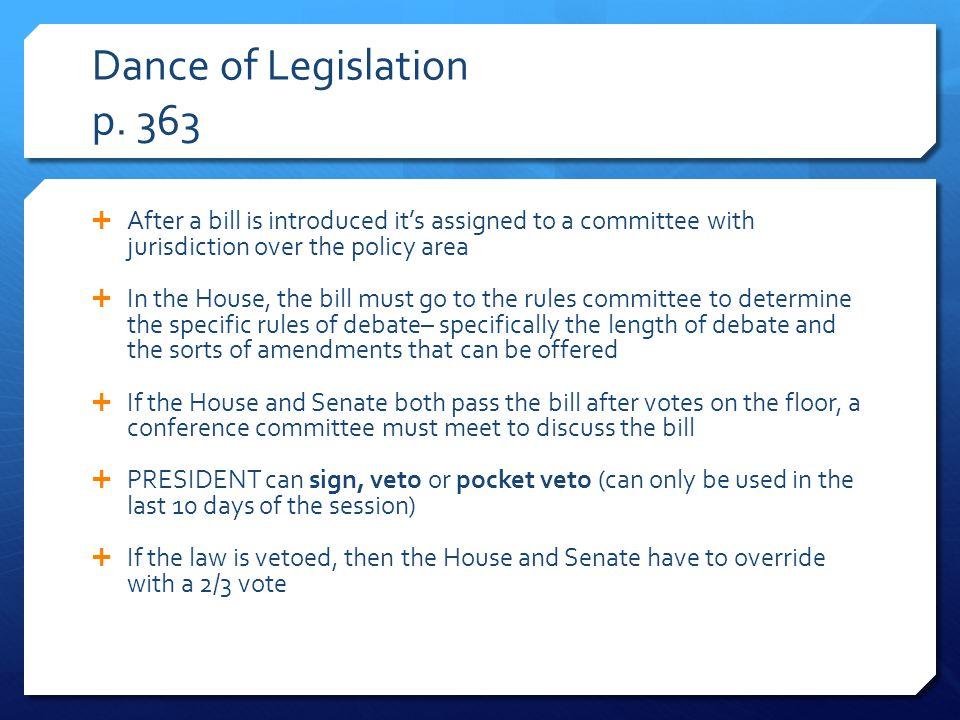 Dance of Legislation p.