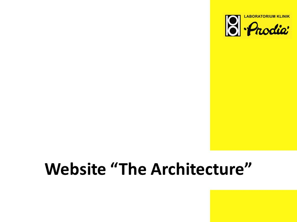 "Website ""The Architecture"""