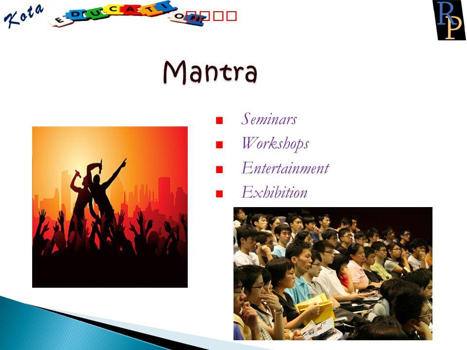 Seminars Workshops Entertainment Exhibition Kota Fair