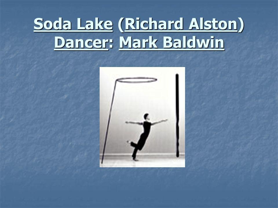 Soda Lake (Richard Alston) Dancer: Mark Baldwin