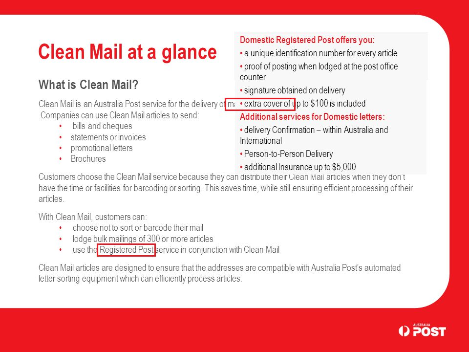 Clean Mail at a glance What is Clean Mail.