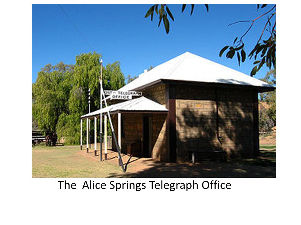 The Alice Springs Telegraph Office